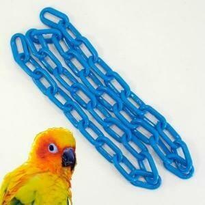 Plastic Chain Blue 6 mm (1-1/4 Inch) Long 3 Feet (.91 M)