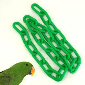 Plastic Chain Green 8 mm (2 Inch) Long 3 Feet (.91 M)