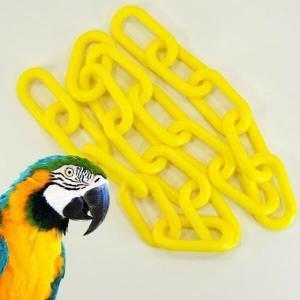 Plastic Chain Yellow 10 mm (2 1/2 Inch) Long 3 Feet (.91 mm)