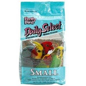 Pretty Bird Daily Select Small Parrot Bird Food Pellets 2 lb