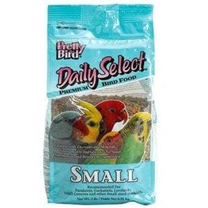 Pretty Bird Daily Select Small Parrot Bird Food Pellets 5 lb