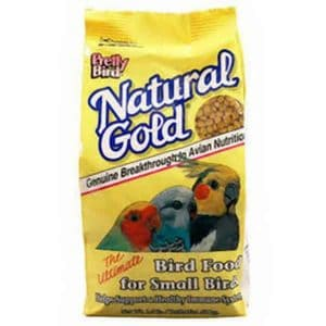 Pretty Bird Natural Gold Pellets For Small Birds 1.5 lb