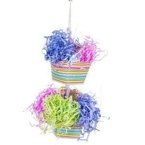 Calypso Creations Bird Toy 62672 Baskets of Bounty