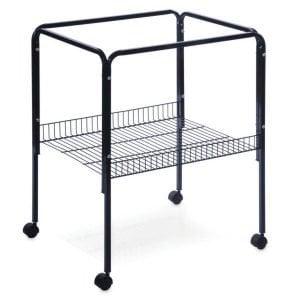 Bird Cage Stand W Shelf by Prevue 2521 26X22 Black