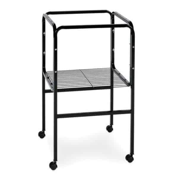 Bird Cage Stand W Shelf by Prevue 445 16X16 Black