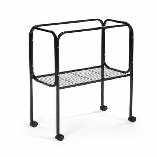 Bird Cage Stand W Shelf by Prevue 446 26X14 Black