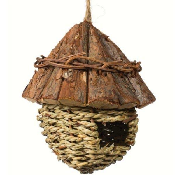 Prevue Finch Nest Wood Roof 1171 1 300x300, Bird And Parrot Info