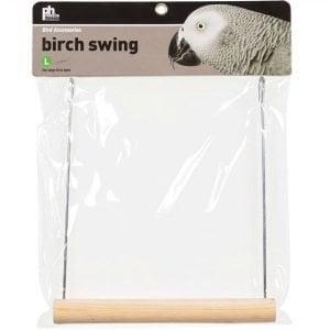 Pine Wood Bird Swing by Prevue Pet Large