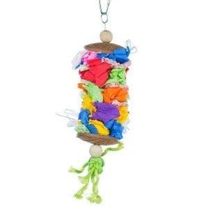 Calypso Creations Bird Toy 62518 Laundry Day