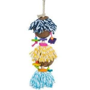Prevue Calypso Creations Bird Toy for Medium Parrots – Ritual Dance