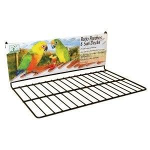 Flat Perch Sun Deck Landing Platform Birds Animals 363 Large