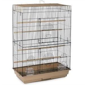 Indoor Aviary Flight Cage for Smallest Birds Prevue 42614-4 Brown Black