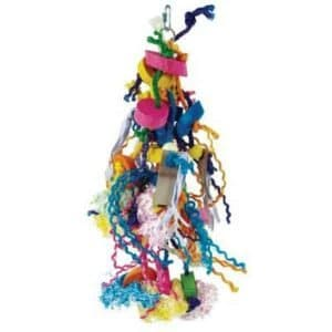Bodacious Bird Toy for Medium to Large Parrots – Voracious