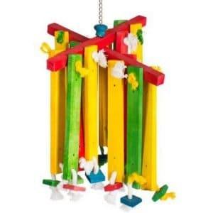 Bodacious Bird Toy 60948 – Wood Chimes