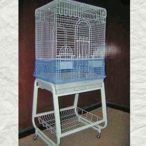 Seed Catcher Skirt Mesh for Bird Cages 821B Prevue Medium Black