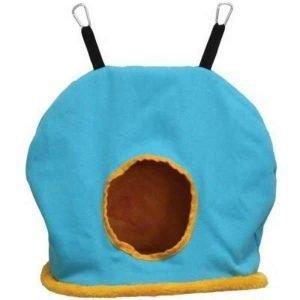 Warm Snuggle Sack for Birds 1165B Prevue Jumbo Blue