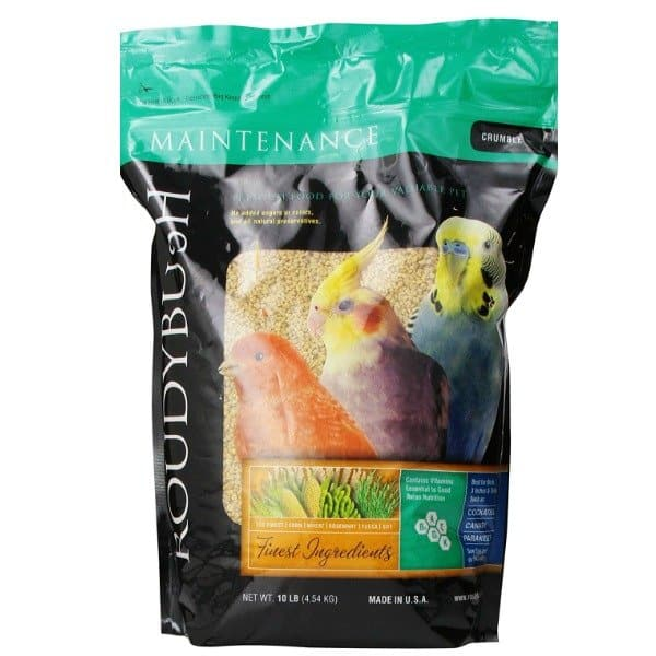 Roudybush Daily Maintenance Bird Pellets Crumbles 44 oz (1.25 kg)