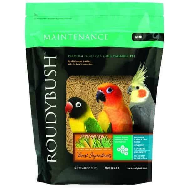 Roudybush mini daily maintenance bird pellets 10 lb 4. 55 kg 7