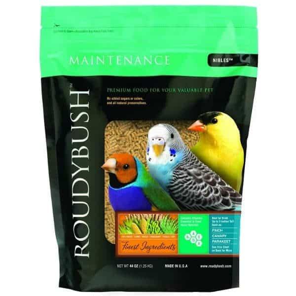 Roudybush nibbles daily maintenance bird pellets 10 lb 4. 55 kg 7
