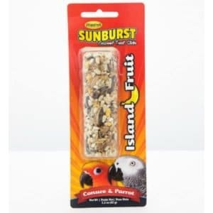 Higgins Sunburst Treat Stick Large Parrots – Island Fruit