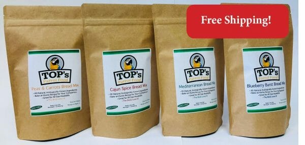 TOP's Premium Birdie Bread Mix Bundle 4 Flavors (includes shipping)