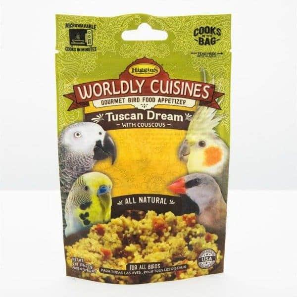 Higgins Worldly Cuisines Tuscan Dream Microwave In Bag 2 oz (57 G)