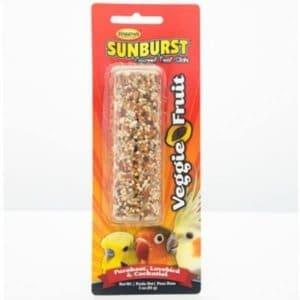 Higgins Sunburst Treat Stick Small Parrots – Veggie Fruit