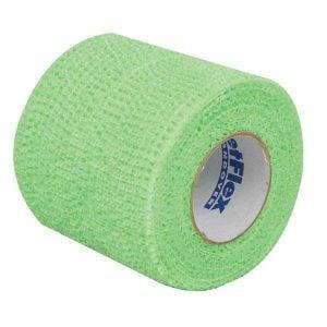 First Aid Self Adhering Tape Vet Wrap No Clips No Adhesive Green