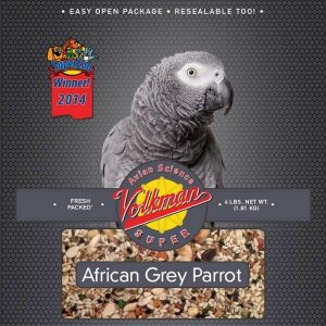 Volkman Avian Science Super African Grey Parrot Seed 4 lb