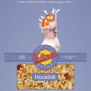Volkman Avian Science Super Hookbill No Sunflower Mix 4 Lb (1.8 Kg)