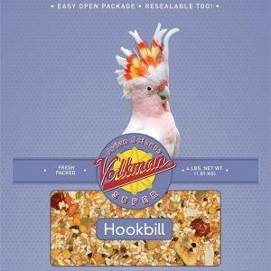 Volkman Avian Science Super Hookbill No Sunflower Mix 20 Lb (9.07 Kg)