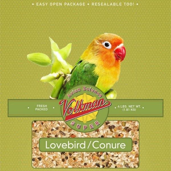 Volkman Avian Science Super Lovebird Conure Bird Seed 2 Lb (.9 Kg)