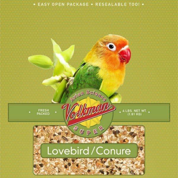 Volkman avian science super lovebird conure bird seed 2 lb. 9 kg 8