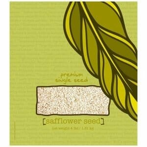 Volkman Seed Factory Safflower Seeds 3 lb