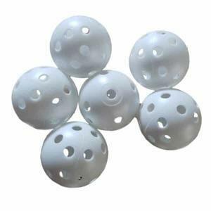 Bird Toy Wiffle Balls 6 pack