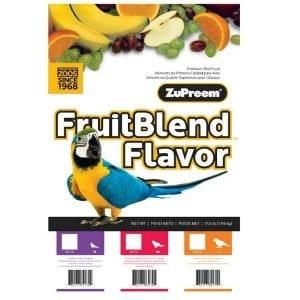 Zupreem Fruit Blend Cockatiel Avian Maintenance 17.5 lb (7.94 kg)