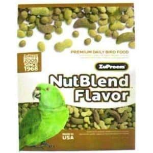 Zupreem Nutblend Parrot Bird Food Pellets 3.25 lb (1.47 Kg)